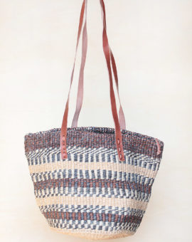 Kiondo Brown Handwoven Sisal African Bag